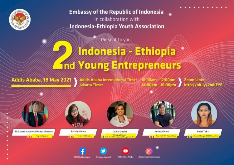 2nd Indonesia-Ethiopia Young Entrepeneur Forum
